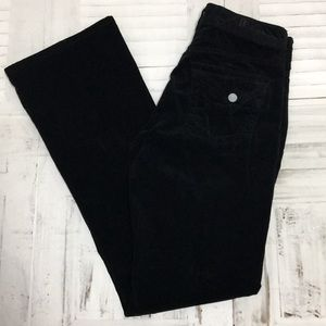 Kut from the kloth boot cut black corduroy pants